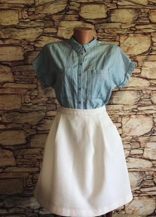Костюм: рубашка/ юбка reserved