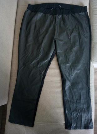 Лосины леггинсы штаны брюки большого размера под кожу