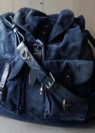 Balenciaga вместительная  замшевая сумка