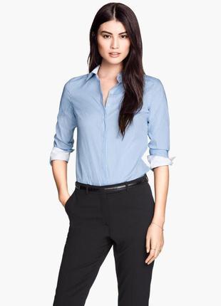 Стильная классическая рубашка блуза