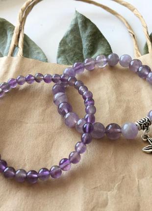 Набор браслетов, браслет из натуральных камней, браслет із натурального каміння