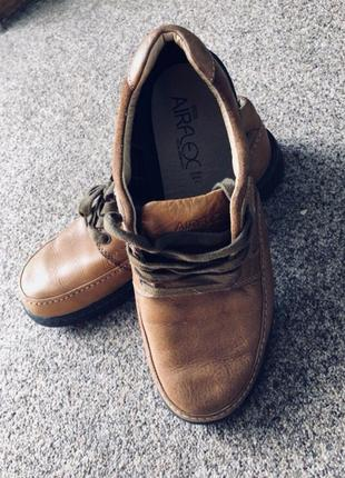 Мужские туфли оригинал бренда marks & spencer