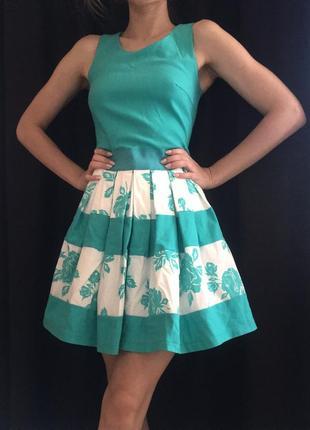 Коктейльное платье, нежное платье, короткое платье
