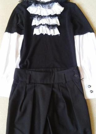 Школьная форма моне( mone )комплект кофточка +брюки