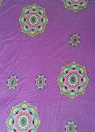 Плед одеяло покрывало простынь мягкое флисовое с красивым рисунком