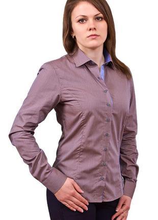 Базовая рубашка цвета мокко