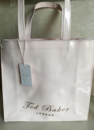 Силиконовая  пляжная  сумка   ted baker london    оригинал (подарок при покупке от 1500гр)
