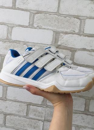 Фирменные кроссовки адидас adidas на липучках(оригинал)