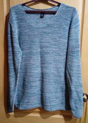 Практичный свитер туника100 % хлопок