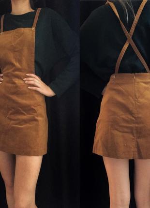 Стильный комбинезон, мини юбка от zara