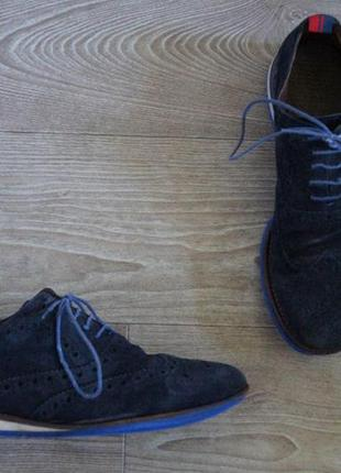 Туфли мужские tommy hilfiger замшевые