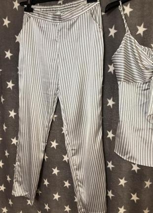 Костюм в пижамном стиле etam