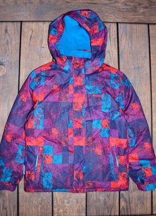 Зимняя, теплая куртка mountain warehouse девочке 11-12 лет