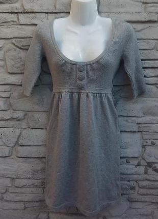 Распродажа!!! крвсивое платье, туеика серого цветв