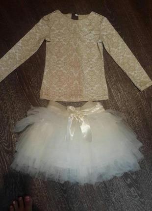 Нарядный костюм для девочки!!!