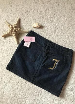 Популярнейший бренд juicy couture💣💣💣 джинсовая юбка