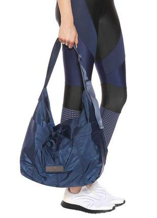 Вместительная дизайнерчкая сумка adidas stella mccartney- оригинал.