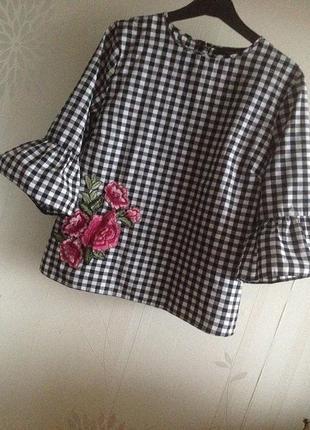 Блуза с вышивкой atmosphere