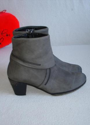 Полусапожки ботинки кожаные бренд gabor