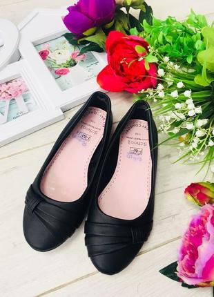 F&f туфли балетки для школы 32-33