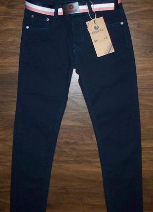 Акция. брюки котоновые демисезонные для мальчиков 134 венгрия синий