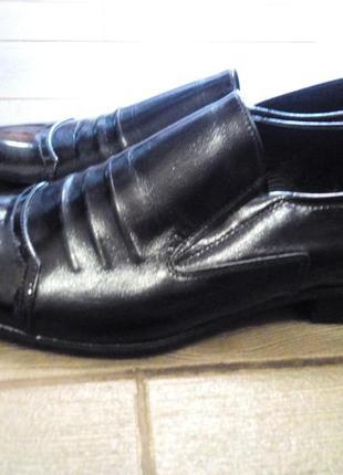 Кожаные туфли vero cuoio italy