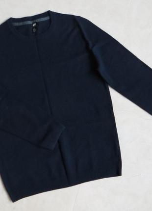 Пуловер мужской шерсть свитер шерстяной реглан джемпер