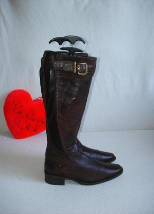 Сапоги кожаные бренд nellioform