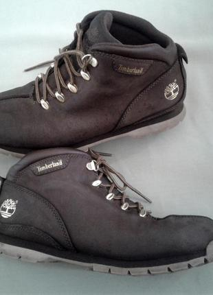 Ботинки timberland осень - зима, кожа