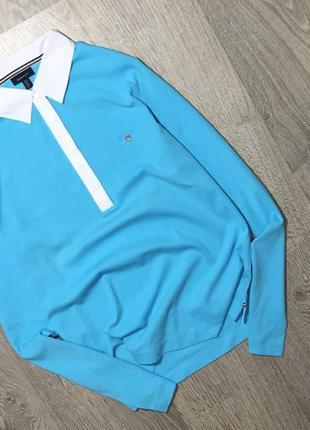 Отличная футболка поло с длинным рукавом от дорогого бренда(качество на высоте!)