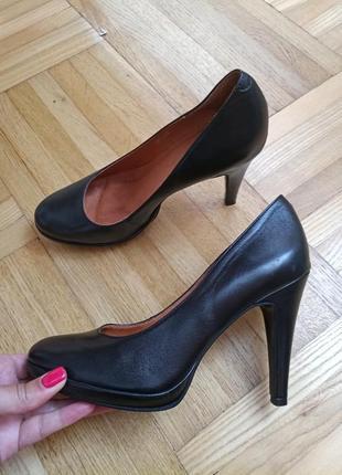 Кожаные базовые туфли