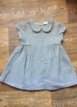 Шерстяное платье next, 9-12 мес, 200 грн