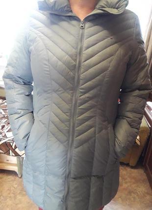 Новая зимняя куртка пуховик tommy hilfiger