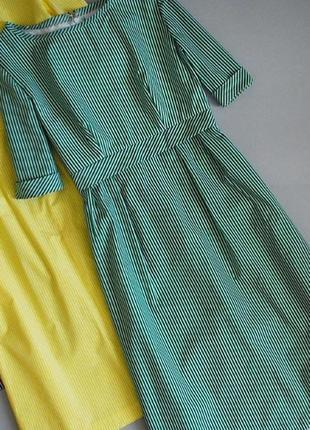 Крутое платье в полоску