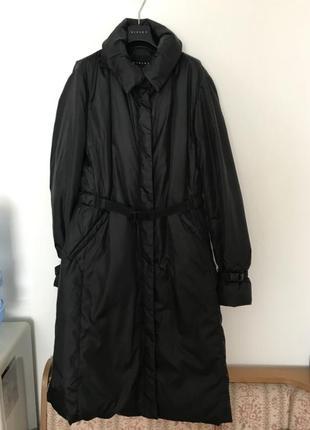 Утепленное пальто sisley