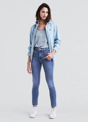 Новые джинсы levi's levis 720 оригинал skinny левис. высокая посадка р.27 летние джинсы