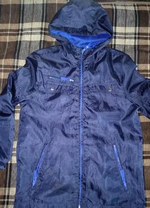 Отличная легкая куртка ветровка f&f 164 см