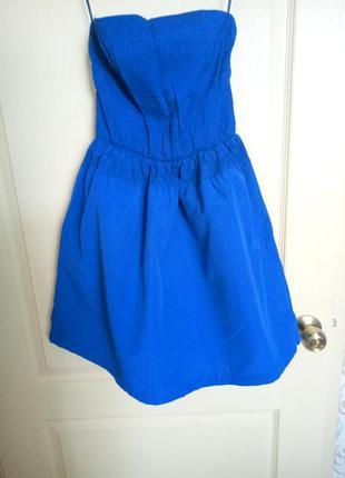 Платье с открытыми плечами, сарафан