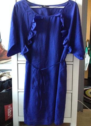 F&f легкое платье с воланами