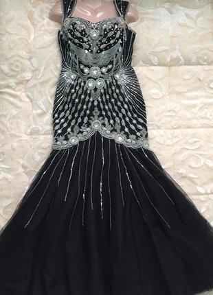Новое вечерние платье из франции