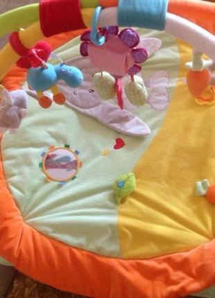 Развивающий, игровой  3-д коврик для малышей