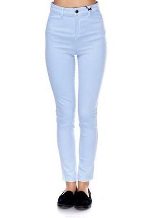 Pull&bear джинсы голубые 46р