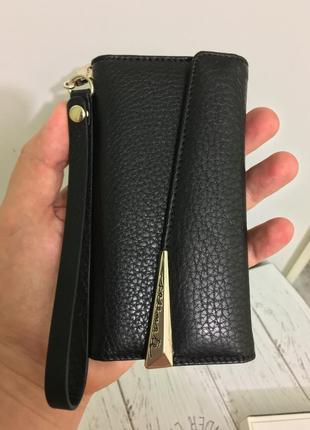 Чехол книжка кожаный casemate для iphone 6 6s 7 8   кожа 100%