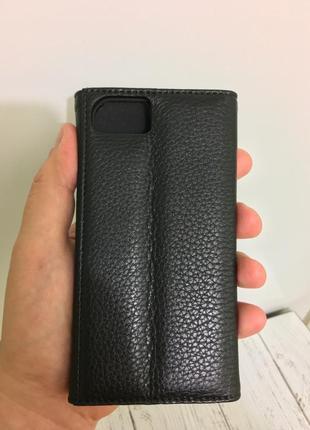 Чехол книжка кожаный casemate для iphone 6 6s 7 8   кожа 100%2 фото