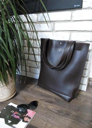 Большая сумка шоппер, шопер