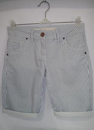 Хлопковые шорты в полоску next uk 6 / 34 / xxs
