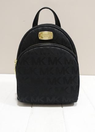 Тканевый рюкзак мини с логотипом мк michael kors abbey оригинал