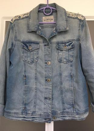 Брендовая джинсовая куртка