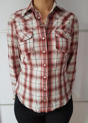 Рубашка в клетку new look*