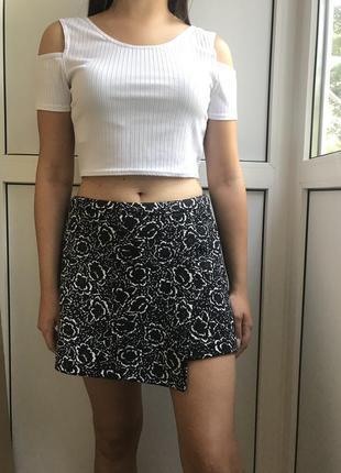 Стильная юбка-шорты new look
